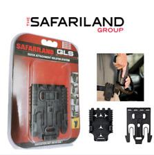 Safariland Qls Kit, Qls 19 Fork & Qls 22 Receivers,Duty Holsters Polymer, Black