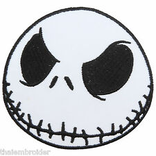 Jack Skellington Nightmare Before Christmas Pumpkin Ghost Iron On Patches #M030