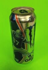 """MONSTER ENERGY DRINK NEW SEALED ROB GRONKOWSKI """"GRONK"""" SPECIAL EDITION empty CAN"""
