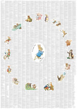 'Peter Rabbit and Friends' Complete Book  set in a Poster