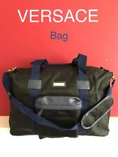 VERSACE MENS BLACK Designer Sports BAG TRAVEL Weekend NEW! a27faf7da7d27