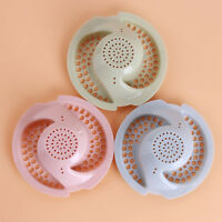 Kitchen Bath Sink Shower Hair Catcher Strainer Plug Drain Stopper Filter D