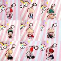 Anime My Hero Academia Boku No Hero Academia Keychain Acrylic Simple Lldty