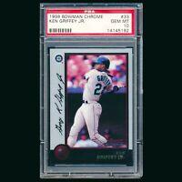 1998 Bowman Chrome Ken Griffey Jr PSA 10 Gem Mint #33 HOF Seattle Mariners