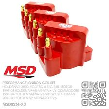 MSD BLASTER IGNITION COIL SET V6 3800 3.8L [HOLDEN VN-VG-VP-VR COMMODORE/CALAIS]