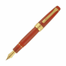 Sailor Pro Gear King of Pen Fountain Pen in Fire Red - 21kt Gold Broad Point