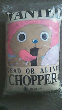 One Piece Chopper cotton candy WANTED poster BIG cushion