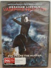 DVD - VAMPIRE HUNTER Evil Fears the Hunter ABRAHAM LINCOLN - BRAND NEW - MA 15+