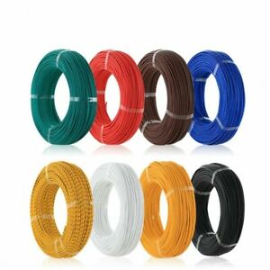 20AWG Stranded UL1007 / 1015 Hookup Cable Wire Various Colours and Length