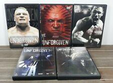 New listing Wwe Unforgiven Wrestling 5 Dvd Lot