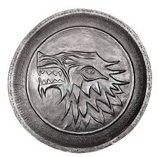 GAME OF THRONES STARK DIREWOLF SHIELD PIN PROP REPLICA LICENSED NIB