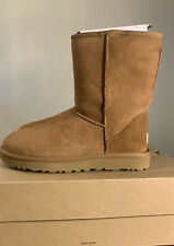UGG CLASSIC SHORT II 1016223 CHESTNUT, SIZE 9, AUTHENTIC WOMAN'S BOOT. BRAND NEW