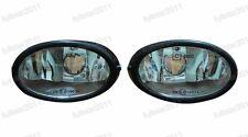 1Pair Clear Fog Lights Lamps w/o Bulbs For Honda Accord Sedan 1998-2002