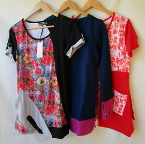 Bulk lot 3 three items size 10 clothing NWT red blue white tops mixed women