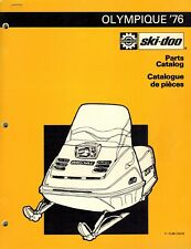 SKI-DOO  OLIMPIQUE  SNOWMOBILE PARTS  MANUAL 1976