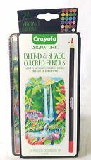 Crayola Signature Blend and Shade Colored Pencils 24pcs