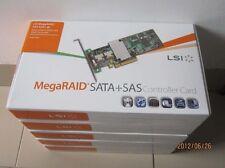LSI  8 Port 6Gbps MegaRAID SAS 9271-8iCC SGL Controller LSI00334