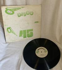Disco 45 Mix Sonic Sounds LP Vinyl
