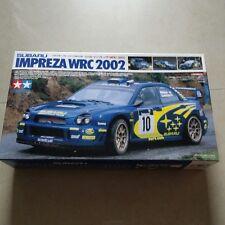 SUBARU WRC IMPREZA WRX STi 2002 TAMIYA 1/24 MODELKIT comes with 2 driver figure*