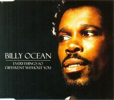 BILLY OCEAN - Everything's so different without you 4TR PROMO CDM 1997 SYNTH-POP