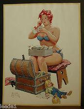 D. Bryers Hilda Page Bikini Old Humpback Trunk Love Letters Tear To Her Eye