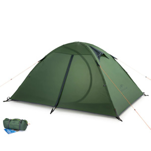 Camping Double-layer 2 person Outdoor Hiking Riding Picnic 3 Season Nylon Tent