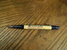 Vintage Durolite Mechanical Pencil    AAA Welding Supplies     U S Guage Chart