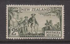 NEW ZEALAND 1935 2/- PICTORIAL  MLH  SG 568a COQK FLAW