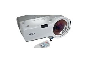 Epson EB-400w 1800-Lumen 3-LCD Ultra Short Throw Conference Room Projector