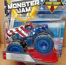 Hot Wheels Monster Jam SOLDIER FORTUNE 3 of 5 STARS and STRIPES american flag