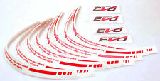 "Desmond Regamaster EVO Decal 17"" Full Lip / Spoke Set Exact Fitment Stickers"