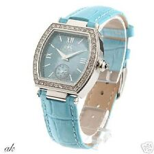 ADEE KAYE NIB Blue Womens Watch w/ crystal accents