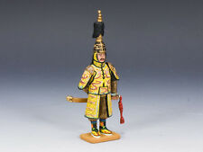 KING AND COUNTRY The Emperor Qian Long PAINTED DIECAST METAL  IC038 IC38