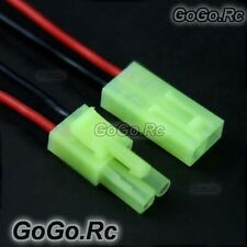 2 Set Small plug & socket 20AWG 15cm Silicone Wire For RC Tamiya Connector USPS