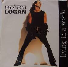 """ANDREW LOGAN ~ Living In A World ~ 12"""" Single PS"""