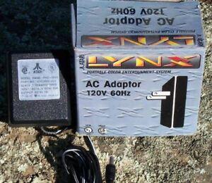Atari Lynx POWER ADAPTER NEW IN BOX 110/120 VAC AC Wall