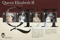 Montserrat Stamps 2012 MNH Queen Elizabeth II Diamond Jubilee Coronation 4v M/S