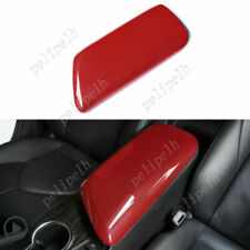 ABS Red Center Console Armrest Box Panel Cover Trim For Toyota Camry 2018-2020