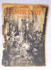 Vintage Recueil D'eaux Fortes Rembrandt Encyclopédie Alpina 42