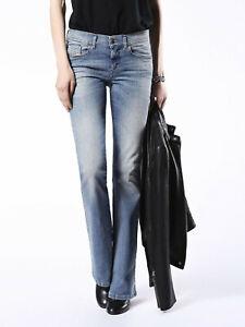 DIESEL Women`s Jeans Size 29 LOWLEEH Slim Bootcut Low Waist W29 L30
