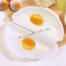 Dos huevos Omelette Microondas Tortilla Cocina Pan Microweavable Huevo Vapor