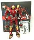 HOT TOYS PPS 002 - IRON MAN 3 1/6TH SCALE POWER POSE SERIES RED SNAPPER COMPLETE