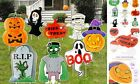 Halloween Decorations Outdoor Yard Signs with Stakes, Large Pumpkin Ghost