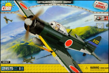 COBI Mitsubishi A6M3 Zero (5537) - 265 elem. - WWII Japanese fighter aircraft