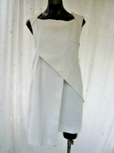 CUE, As New, 12, Such A Cool Dress! Totally Flattering, 88% Cotton, 2% Elastane.