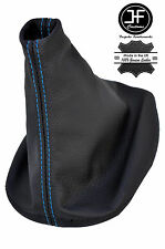 BLUE STITCH REAL LEATHER MANUAL GEAR BOOT COVER FOR PORSCHE 944 924 1982-1989