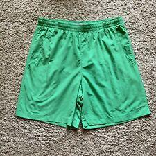 Columbia PFG Green Omni Shade Swim Trunks Shorts Boys Size Youth L (14-16)