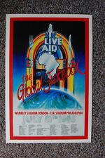 Live Aid Concert Tour Poster 1985 #2 Wembley Stadium London