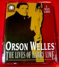 Orson Welles The Lives Of Harry Lime 2 2-Tape Audio Nazi Loot/Contraband/Opium+5