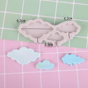 Clouds Silicone Cake Fondant Sugarcraft Mold Chocolate Baking Lollipop Mould DIY